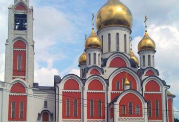 Храм Георгия Победоносца в Одинцово